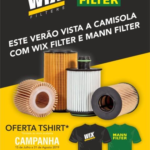 CAMPANHA DE FILTROS - WIX & MANN-FILTER