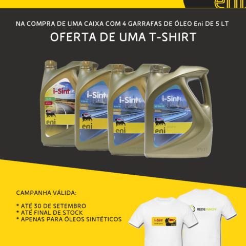 CAMPANHA ENI - ÓLEOS SINTÉTICOS